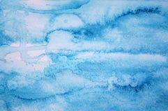 Fundo abstrato da aguarela na textura de papel Fotografia de Stock Royalty Free