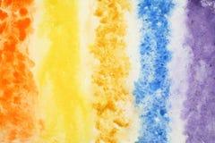 Fundo abstrato da aguarela na textura de papel Imagens de Stock Royalty Free