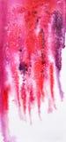 Fundo abstrato da aquarela com efeito de sal ilustração stock