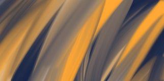 Fundo abstrato da aquarela, textura alaranjada ilustração do vetor