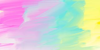 Fundo abstrato da aquarela, textura colorida ilustração stock