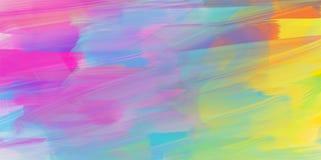 Fundo abstrato da aquarela, textura colorida ilustração royalty free