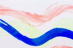 Fundo abstrato da arte da aquarela Imagens de Stock