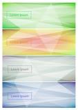 Fundo abstrato da bandeira da Web Foto de Stock Royalty Free