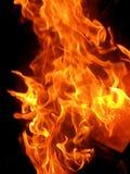 Fundo abstrato da chama do fogo da chama fotografia de stock