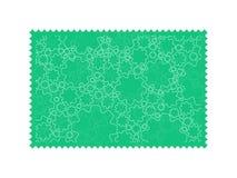 Fundo abstrato da colagem da indústria da máquina da engrenagem em um selo Imagens de Stock Royalty Free