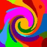 Fundo abstrato da cor Foto de Stock
