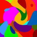 Fundo abstrato da cor Fotografia de Stock