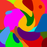 Fundo abstrato da cor Foto de Stock Royalty Free