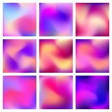 Fundo abstrato da cor de Blured Imagens de Stock Royalty Free