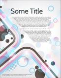 Fundo abstrato da cor do vetor com arco-íris Imagem de Stock Royalty Free