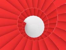 Fundo abstrato da escadaria Imagens de Stock