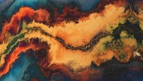 Fundo abstrato da flama Imagem de Stock