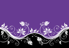 Fundo abstrato da flor Imagens de Stock