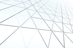 Fundo abstrato da forma poligonal Imagem de Stock Royalty Free