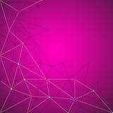 Fundo abstrato da geometria Fotos de Stock
