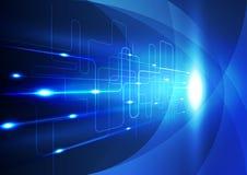 Fundo abstrato da inovação da tecnologia, ilustração do vetor