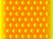 Fundo abstrato da laranja do hemisfério Imagens de Stock