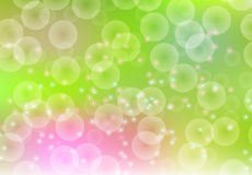 Fundo abstrato da luz da cor do borrão Mola Fotografia de Stock