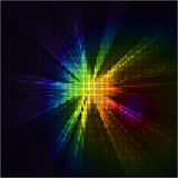 Fundo abstrato da luz do mosaico Foto de Stock