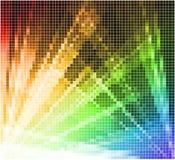 Fundo abstrato da luz do mosaico Imagens de Stock