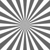 Fundo abstrato da luz solar Fundo cinzento e branco da explosão de cor Ilustração do vetor Raio do feixe de Sun ilustração stock