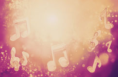 Fundo abstrato da música fotos de stock royalty free