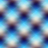 Fundo abstrato da manta das listras Fotos de Stock