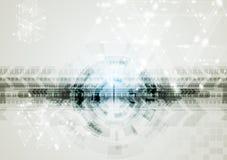 Fundo abstrato da olá!-tecnologia do vetor Fotos de Stock