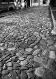 Fundo abstrato da opinião velha do pavimento da pedra fotografia de stock royalty free