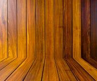 Fundo abstrato da parede de madeira imagens de stock