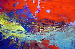 Fundo abstrato da pintura Fotos de Stock