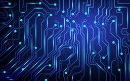 Fundo abstrato da placa de circuito Imagem de Stock