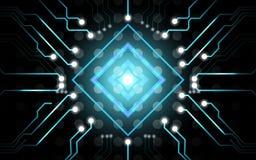 Fundo abstrato da placa de circuito Imagens de Stock