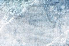 Fundo abstrato da sarja de Nimes. Fotografia de Stock Royalty Free