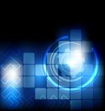 Fundo abstrato da tecnologia foto de stock