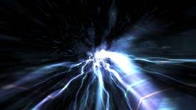 Fundo abstrato da tecnologia, computação gráfica, cabo do Cyberspace Imagens de Stock Royalty Free
