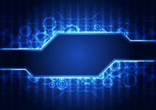 Fundo abstrato da tecnologia da engenharia do vetor, ilustração Imagem de Stock Royalty Free