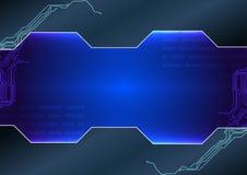 Fundo abstrato da tecnologia desig da ilustração Imagens de Stock