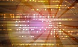 Fundo abstrato da tecnologia Relação futurista da tecnologia Foto de Stock Royalty Free