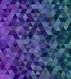 Fundo abstrato da telha de mosaico do triângulo Foto de Stock Royalty Free