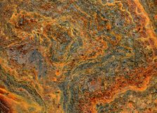 Fundo abstrato da textura da oxidação foto de stock royalty free