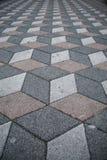 Fundo abstrato da textura de formas do cubo 3d Imagem de Stock