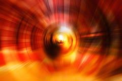 Fundo abstrato da velocidade do movimento com luzes defocused do bokeh foto de stock