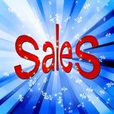 Fundo abstrato da venda Foto de Stock Royalty Free