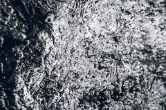 Fundo abstrato das bolhas subaquáticas Bolhas de ar Imagens de Stock