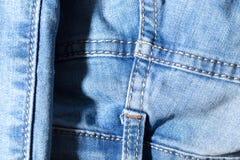 Fundo abstrato das calças de brim Fotos de Stock Royalty Free