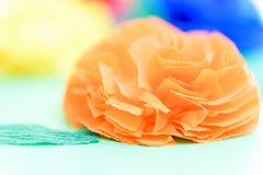 Fundo abstrato das cores do papel colorido foto de stock