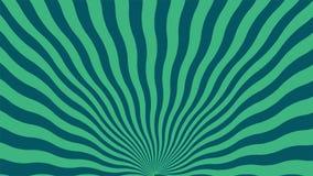 Fundo abstrato das linhas verdes e azuis curvadas ilustração royalty free