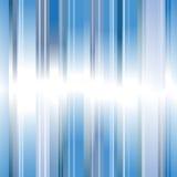 Fundo abstrato das listras azuis Fotos de Stock